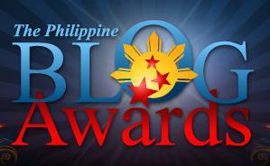 According to the good fellows at the Philippine Blog Awards, I must be doing something right.