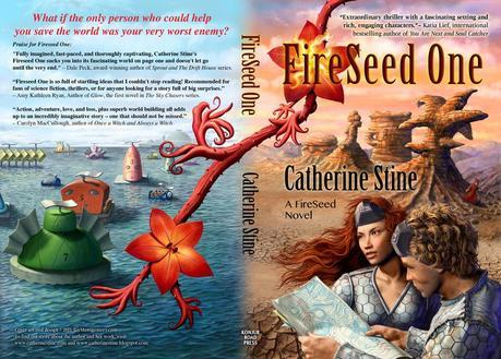 FireSeed One – Book Cover Illustration and Design