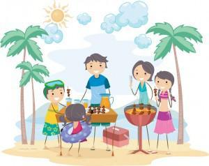 eco friendly picnic bbq 300x238 Green Barbecues All Year Round