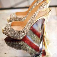 Sparkling shoes