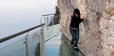Glass Bridge In China 1