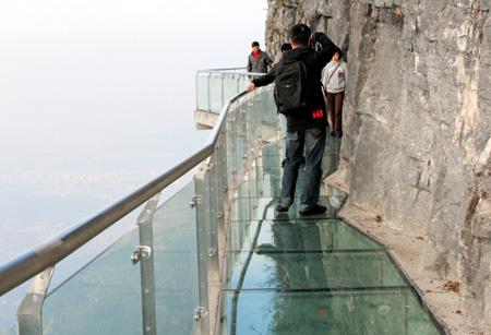 Glass Bridge In China 2