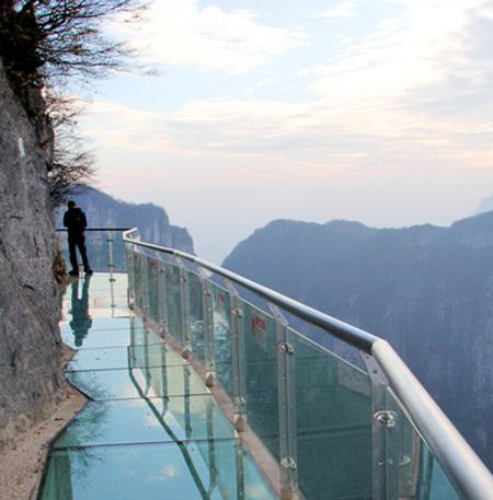 Glass Bridge In China 3