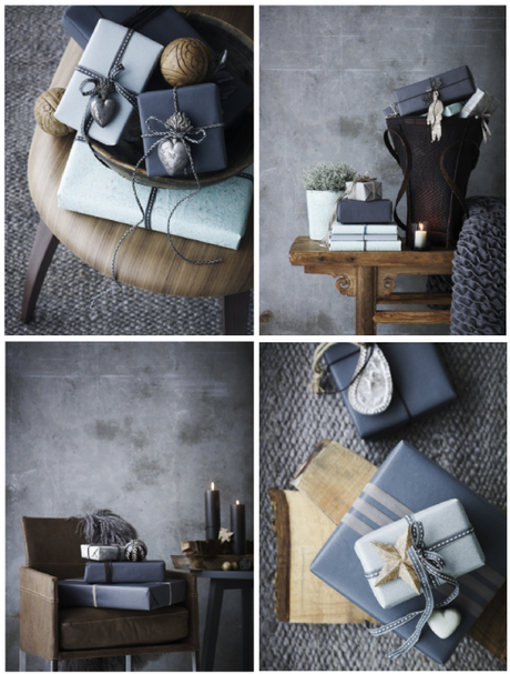 Gift wrapping – darker hues
