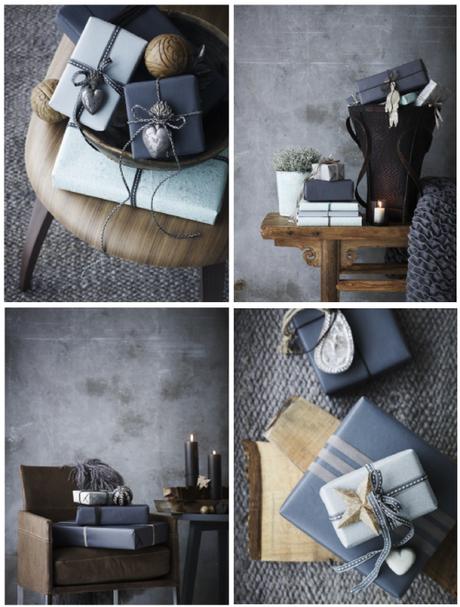 Gift wrapping – darker hues
