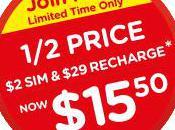 Woolworths Prepaid Half Price Starter