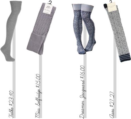 Over-The-Knee Socks…