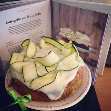 Courgette And Lime Cake Three Sisters Bake