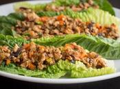 Spicy Turkey Lettuce Boats