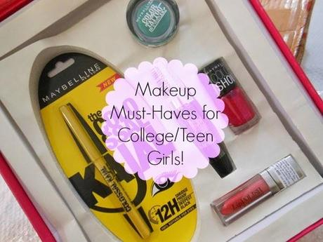 Makeup Must-Haves for College/Teen Girls!