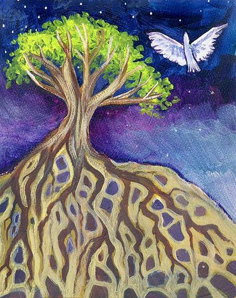 2 Magical Paintings: Deep Roots - Paperblog