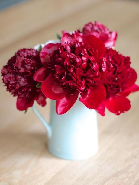 Flowers On Sunday Cutting Garden Peonies Paperblog