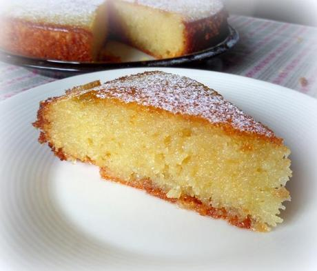 Almond Cake with a Rosewater & Lemon Syrup - Paperblog