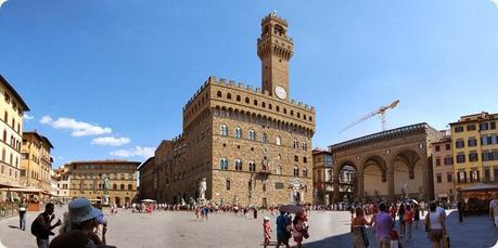 The Palazzo del Leone in Florence has always been an icon of the Piazza della Signoria.