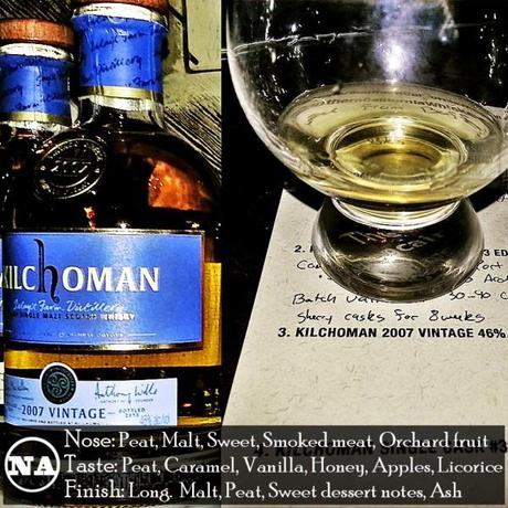 Kilchoman 2007 Vintage Review