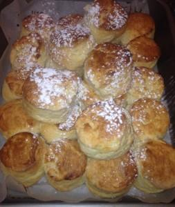 Scones made to order