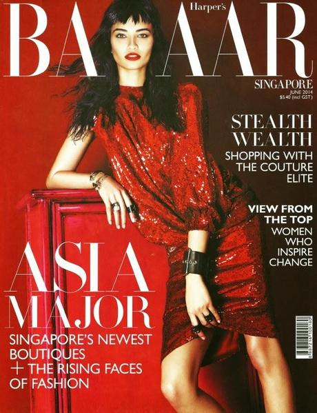 Shanina Shaik For Harper S Bazaar Magazine Singapore