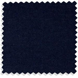 A swatch of dark blue tropical worsted fabric, as Bond preferred for his suits.