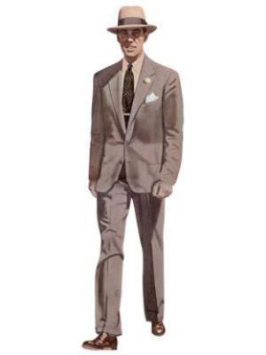 Esquire's depiction of the typical American male of the 1950s.