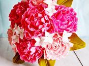 Gorgeous Paper Peonies Bunches Daisies