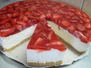 No-bake Summer Cheesecake