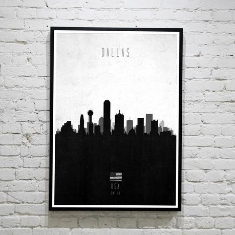 Dallas. Contemporary Cityscape