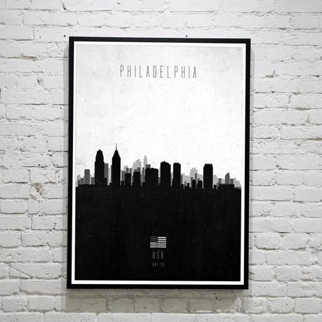 Philadelphia. Contemporary Cityscape