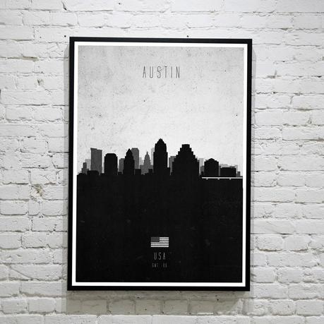 Austin. Contemporary Cityscape
