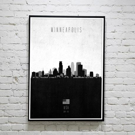 Minneapolis. Contemporary Cityscape