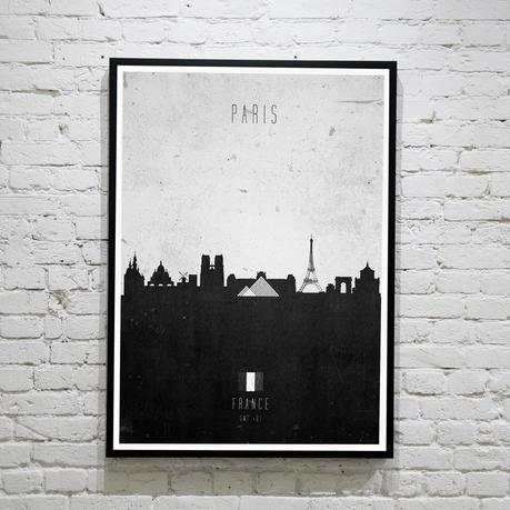 Paris. Contemporary Cityscape