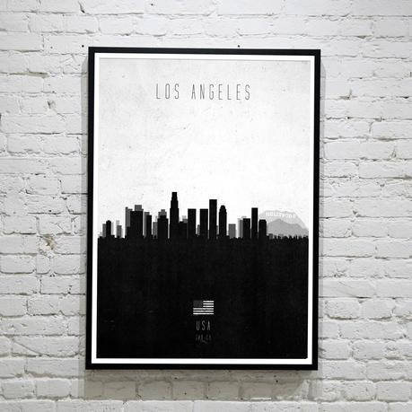 Los Angeles. Contemporary Cityscape