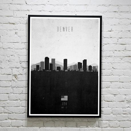 Denver. Contemporary Cityscape