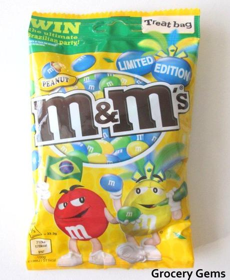 Limited Edition M&M's Brazil World Cup (UK)