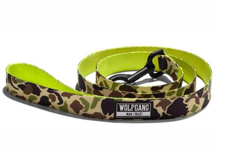 Wolfgang Man/Beast Ducklime Dog Leash