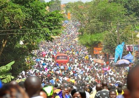 Millions of Christian pilgrims flock to Namugongo every June.