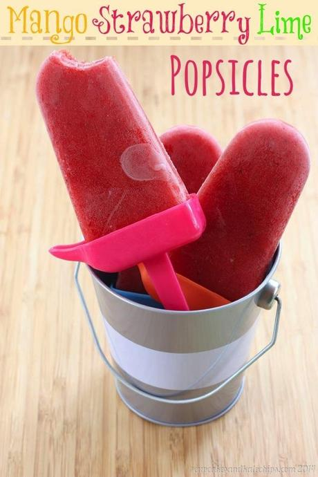 Mango Strawberry Lime Popsicles 6 title