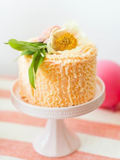 Flamingo Pop: a bridal shower collab with BHLDN
