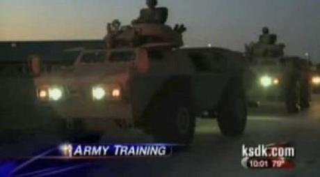 US Army tanks in St. Louis