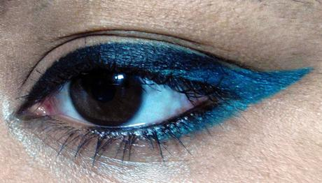 Blue Eyes~~ Maybelline Colossal Turquoise Review