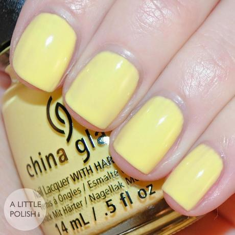 China Glaze - Off Shore Collection - Swatches & Review Part 2