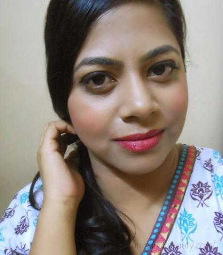 Everyday Makeup : Rosy Lips and Winged Liner