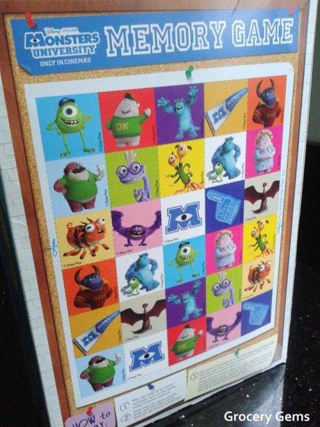 Nestlé Monster Cereal (Disney Pixar Monsters University) UK