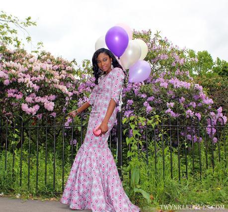 Today I'm Wearing: My Bespoke Birthday Dress