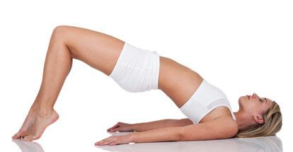 yoga exercises or poses to slim down hips and thighs