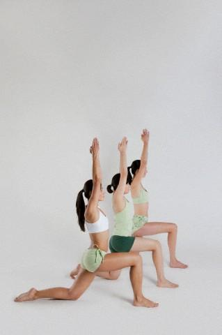 Warrior Pose I or Virabhadrasana I
