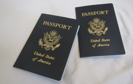 Our Emergency Passports.  They Look The Same as Real Ones!