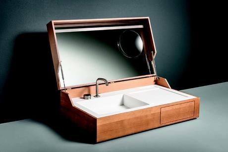 Giulio Gianturco Suitcase Sink