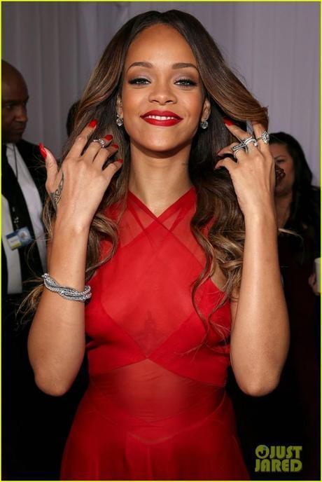 Rihanna Grammy Jewelry