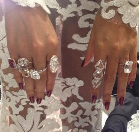 Beyonce Grammy Jewelry