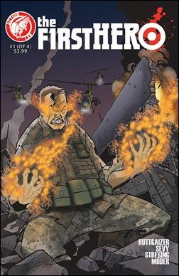 The F1rst Hero #1 Cover